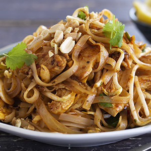 Quick and Easy Chicken Pad Thai