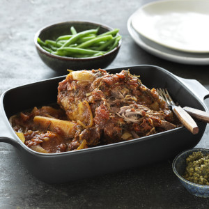Slow Cooked Lamb with Winter Vegetables