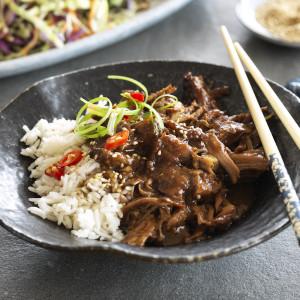 Slow-Cooked Teriyaki Pulled Pork