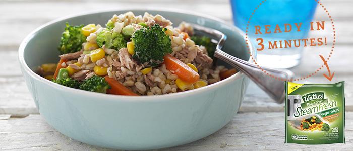 Wattie's SteamFresh vegetables - lunch ideas