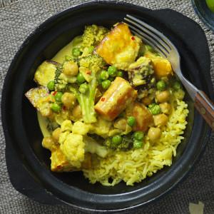Vegetarian Turmeric Curry
