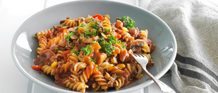 All-In-One Tasty Pasta