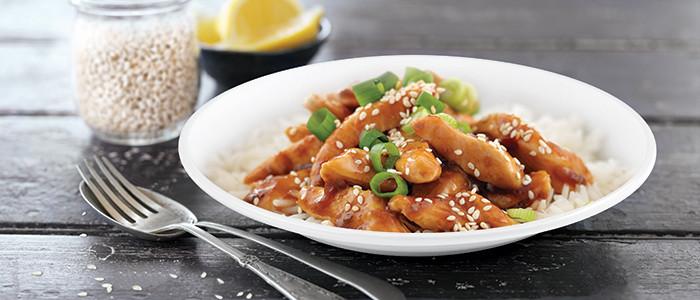 Asian Lemon and Ginger Chicken Stir-Fry