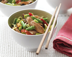 Asian-Style Pork and Vegetables