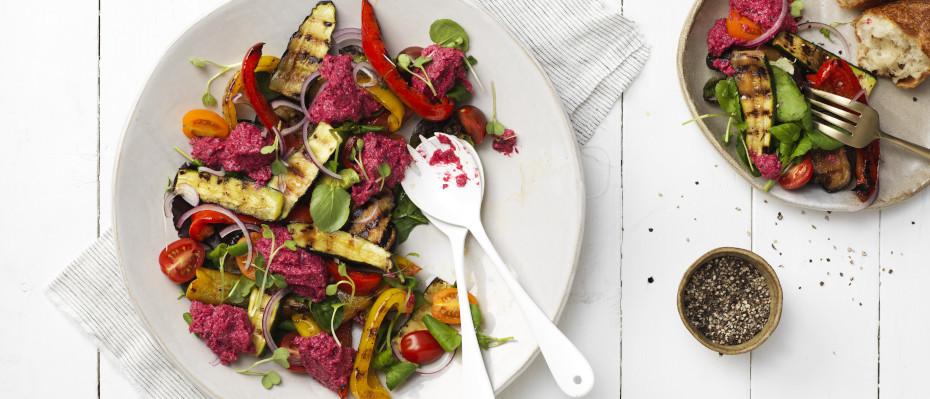 BBQ Summer Vegetable Salad