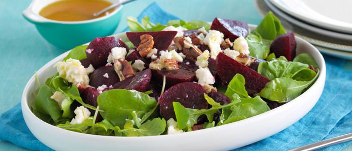 Baby Beets, Rocket and Pecan Salad