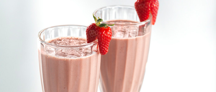 Berry, Banana and Chocolate Smoothie