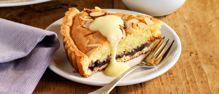 Blueberry Bakewell Tart