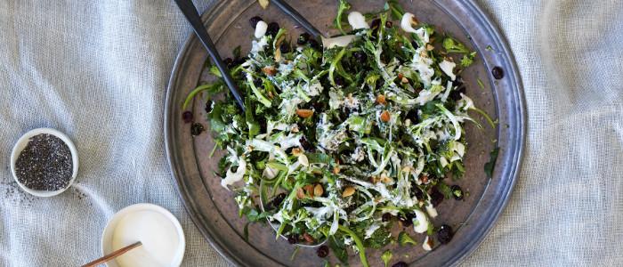 Broccolini and Kale Slaw