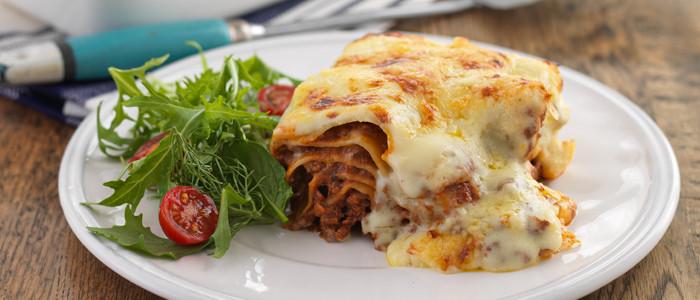 Cheesy Lasagne