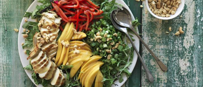 Chicken & Mango Summer Salad
