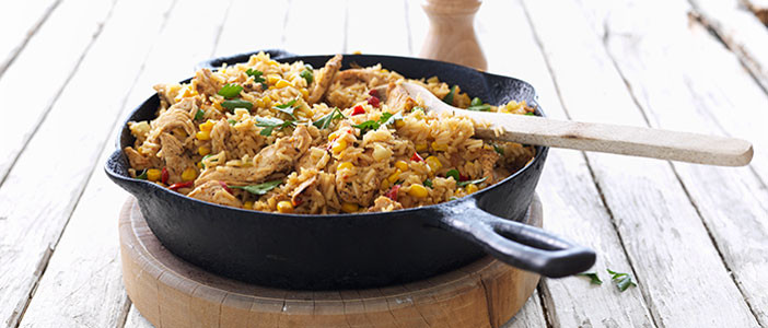 Chicken and Chuckwagon Rice