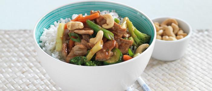 Chinese Pork and Vegetable Stir-Fry
