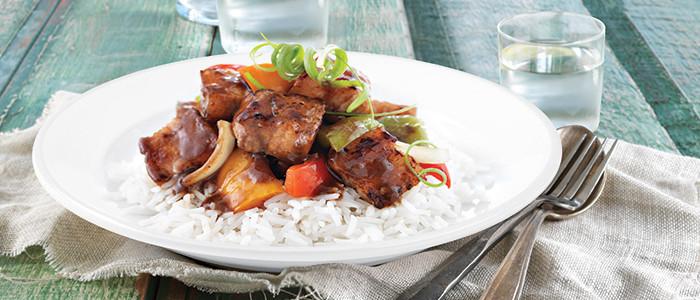 Chinese Stir-Fry BBQ Pork