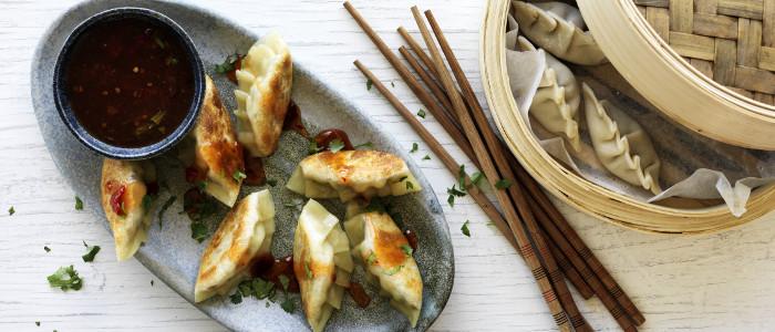 Chinese Vegetarian Dumplings