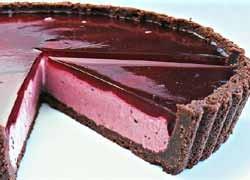 Chocolate Berry Cheesecake