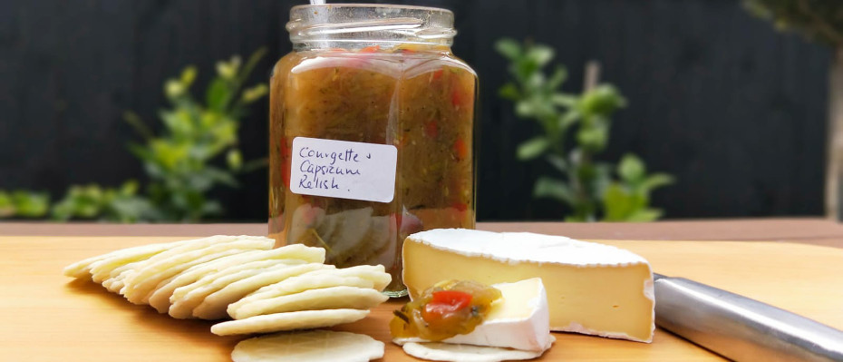 Courgette and Capsicum Relish