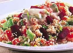Couscous & Beetroot Salad