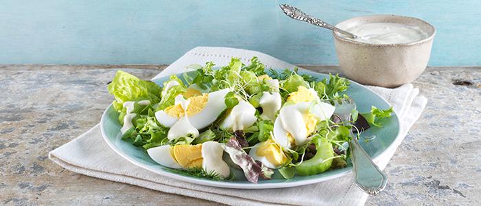 Creamy Egg & Watercress Salad