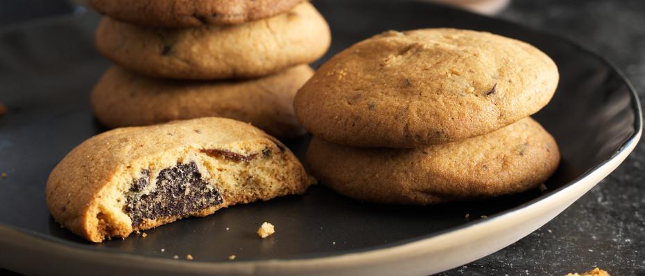 Decadent Chocolate Chip Cookies