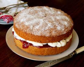 Easy Butter Sponge Cake