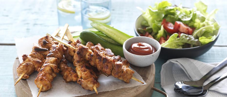 Easy Chicken Kebabs