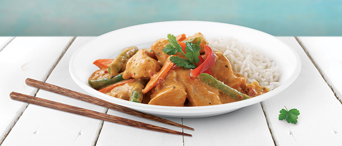 Fragrant Thai Red Chicken Curry