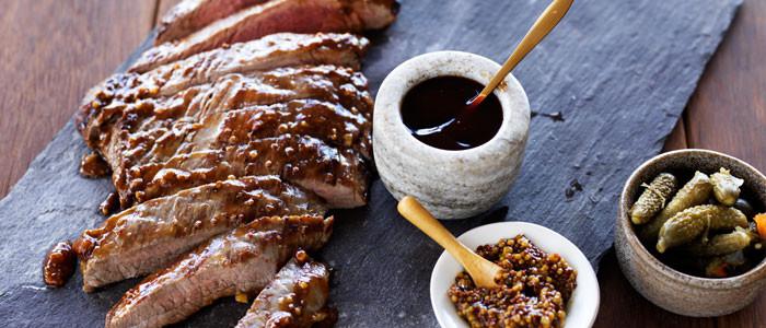 Glazed BBQ Steaks