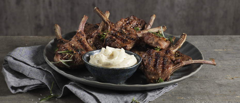 Grilled Lamb Cutlets