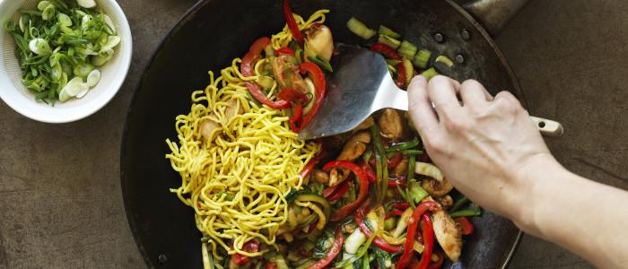Honey Soy Chicken & Noodle Stir-Fry