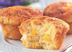 Lemon 'n' Mango Muffins