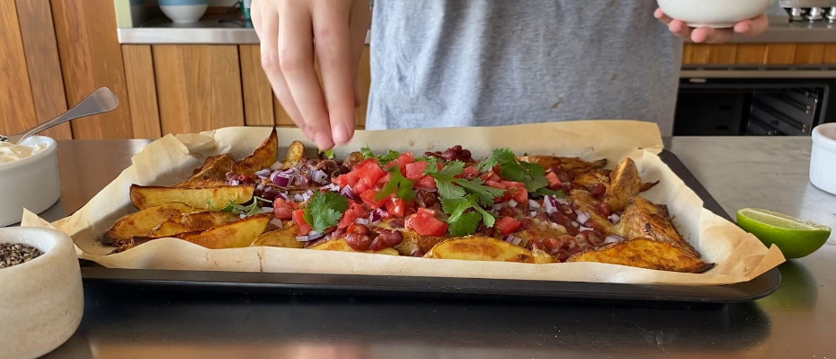 Loaded Chilli Bean Wedges