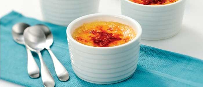 Mango Crème Brulee