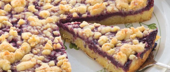 Melissa Jones' Boysenberry Tart