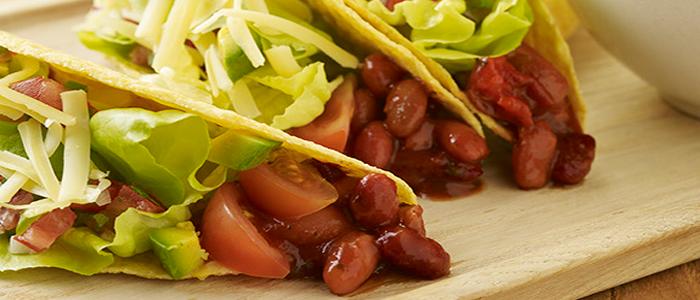 Mexican Bean Tacos