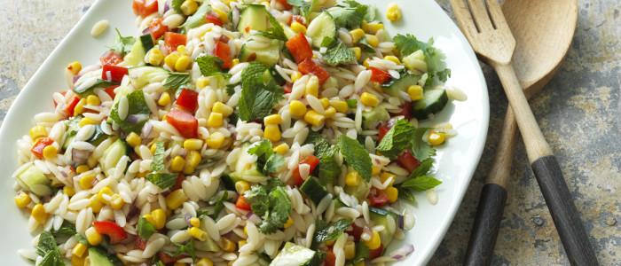 Mexican Corn and Orzo Salad
