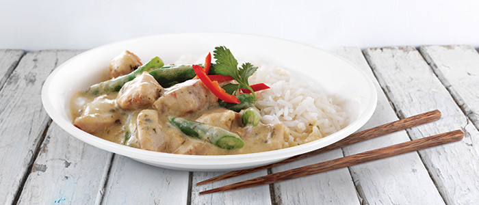 Midweek Thai Green Chicken Curry