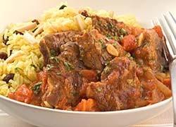 Moroccan Lamb Pilaf