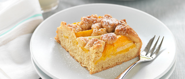No Fuss Peach and Apple Shortcake