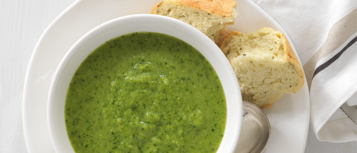 Pea, Pear and Rocket Soup