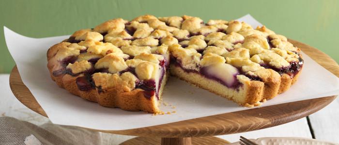 Pear and Boysenberry Summer Shortcake