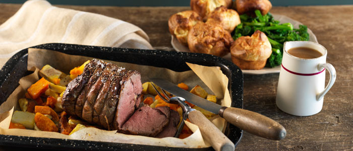 Perfect Kiwi Roast Beef with Mini Yorkshire Puddings