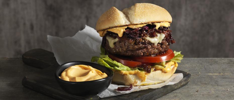 Peri Peri Beef Burgers