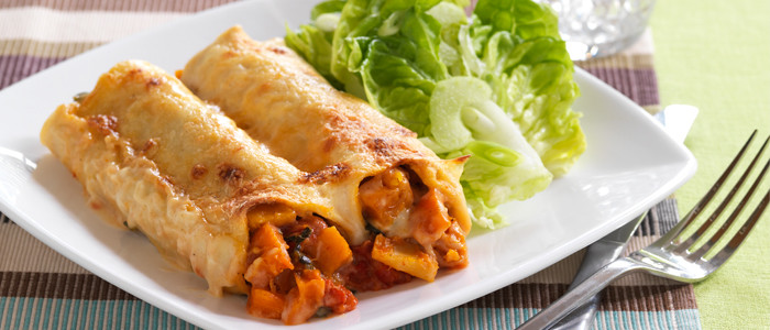 Roasted Vegetable Cannelloni