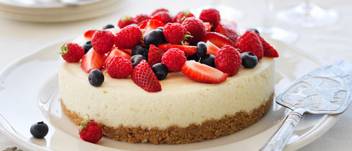 Rose's Lime Cheesecake