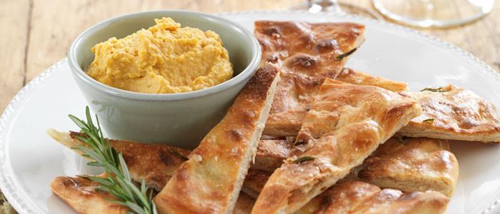 Rosemary and Garlic Pizza Bread
