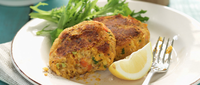 Salmon and Vegetable Cakes