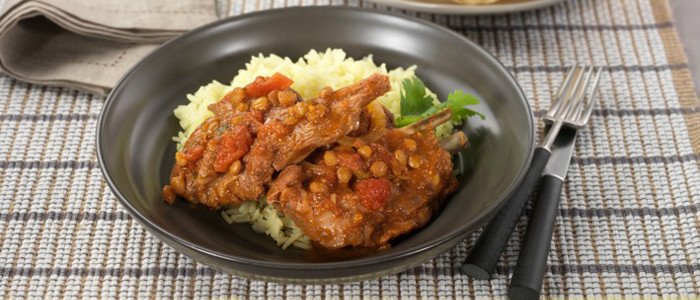 Slow Cooked Indian Spiced Lamb