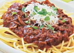 Spaghetti Bolognese with a Twist
