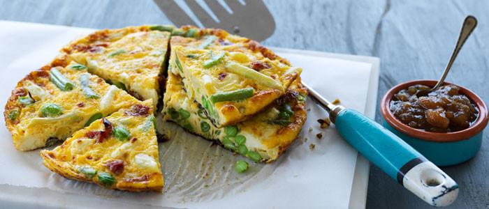 Speedy Vegetarian Frittata